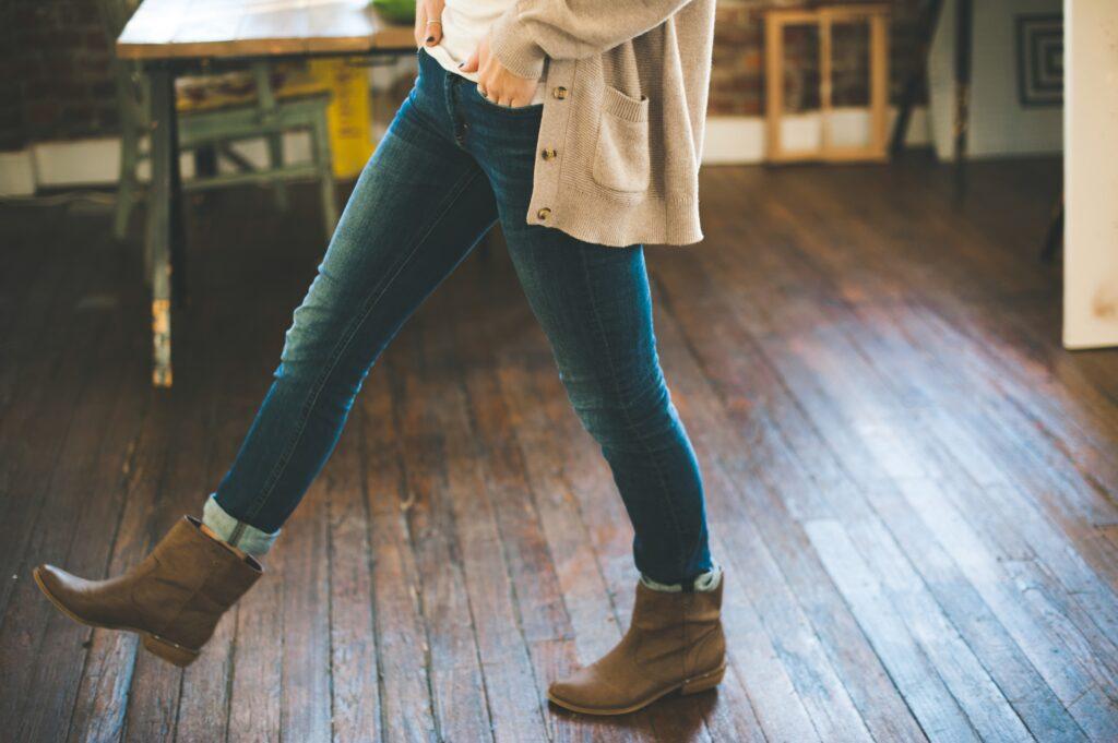 girl, jeans, denim